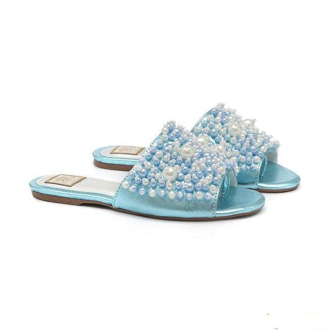 Slide Cristal Bordado