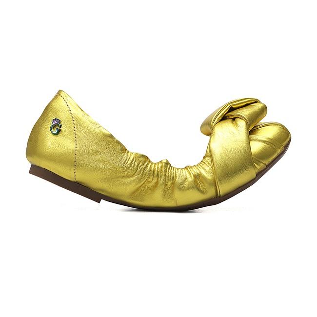 Sapatilha Elástico Amarelo