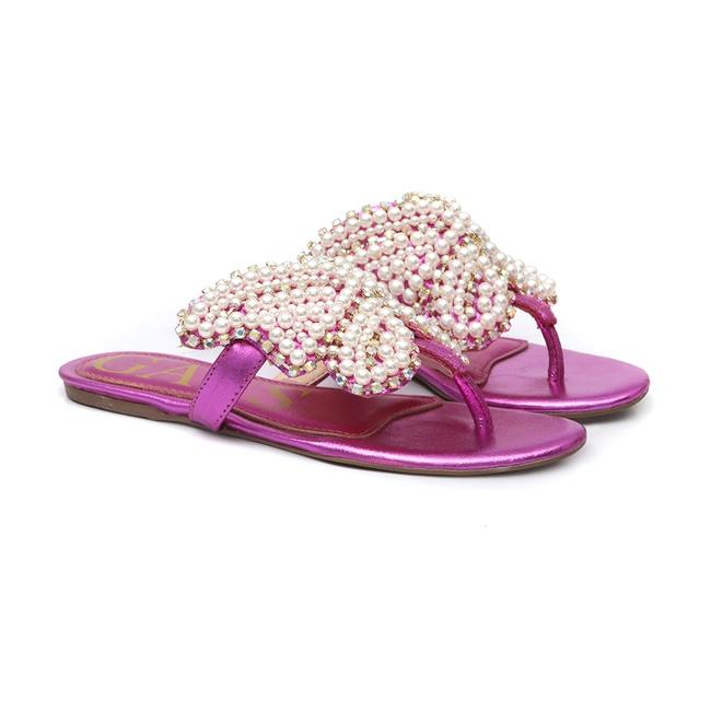 Flat Borboleta Pink