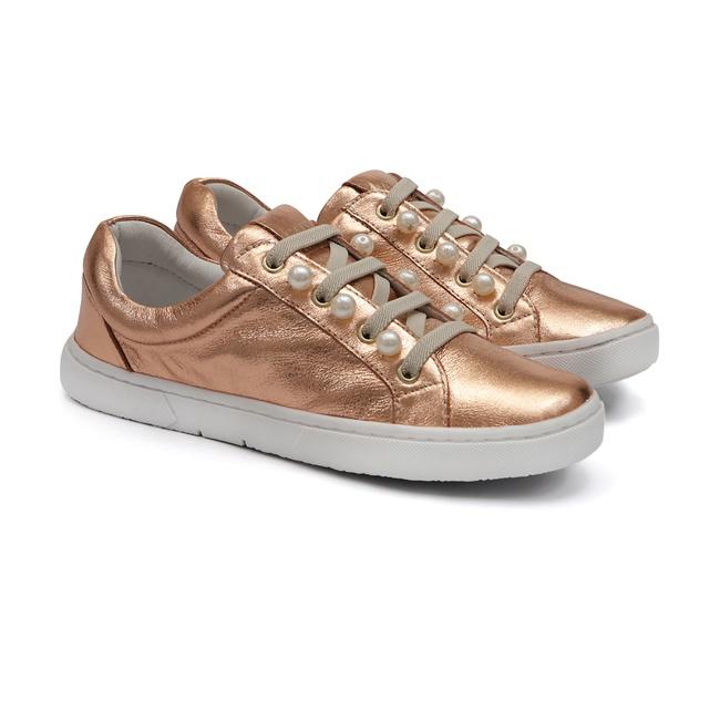 Tênis Sneaker Pérolas Cobre