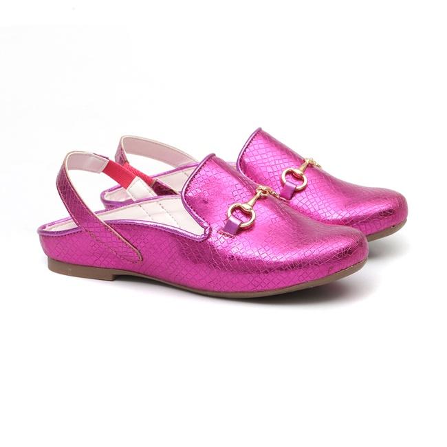 Mule Metal Pink
