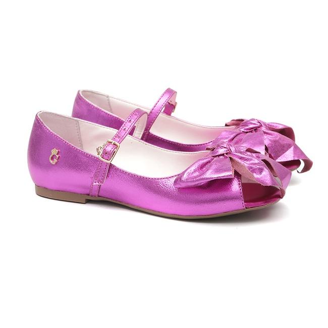 Peep Toe Laço Pink