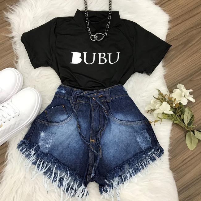 Cropped BUBU - Preto
