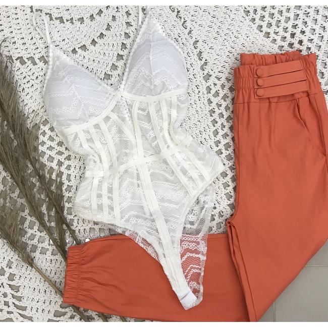 Body Renda - Branco