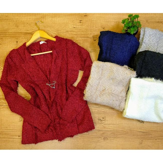 Kimono Curto Pelinho - Vermelho