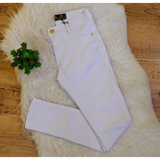 Calça jeans - Cor Branco