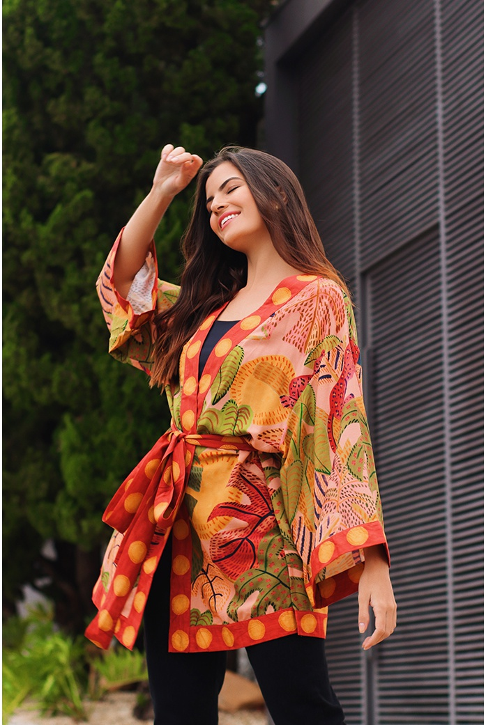 Kimono sonho de verão farm - DBoneca