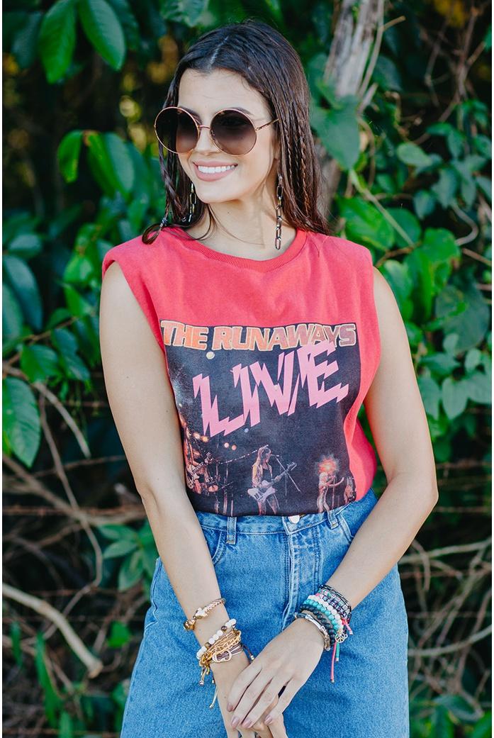 T-shirt runaways vida bela - DBoneca