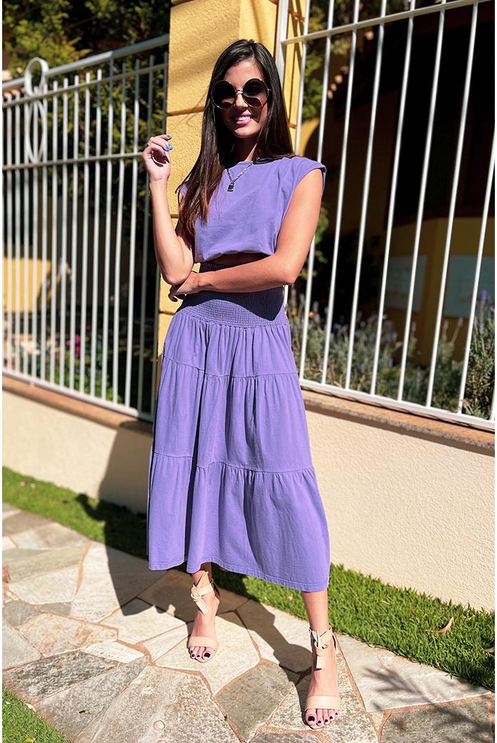 Conjunto Maria Lilas Alcance Jeans - DBoneca