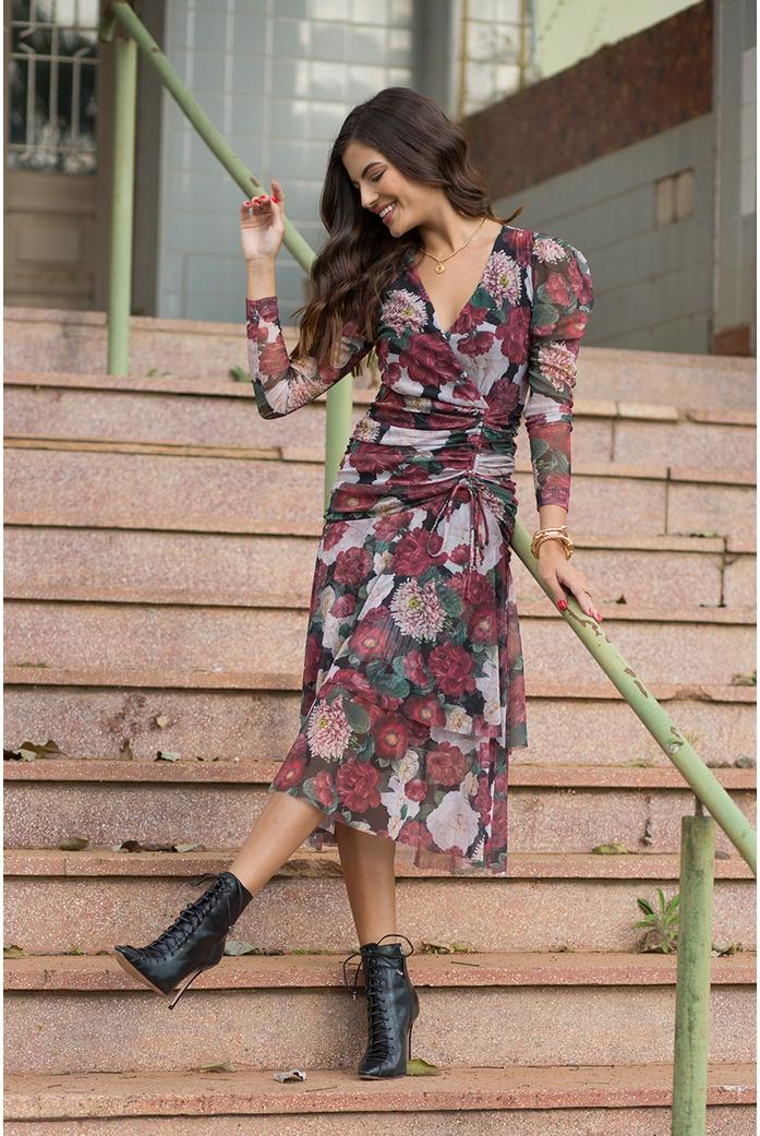 Vestido florinda linda de morrer - DBoneca