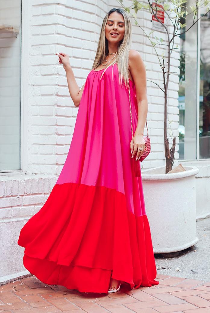 Vestido D'Boneca Thereza Rosa - DBoneca