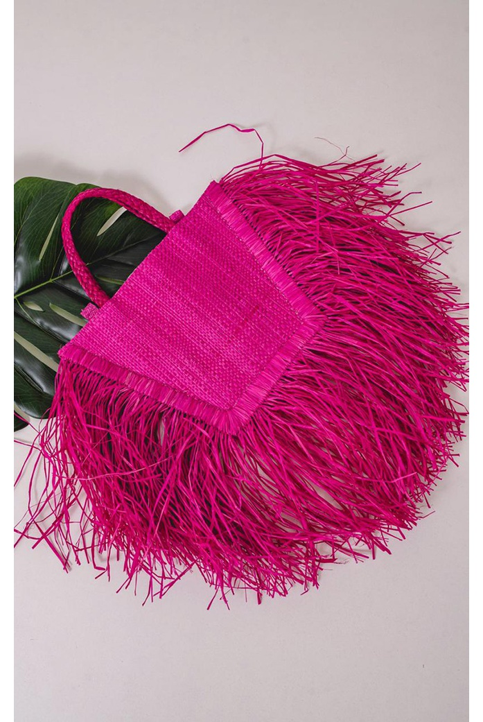 Bolsa Malu Pequena Rosa - DBoneca