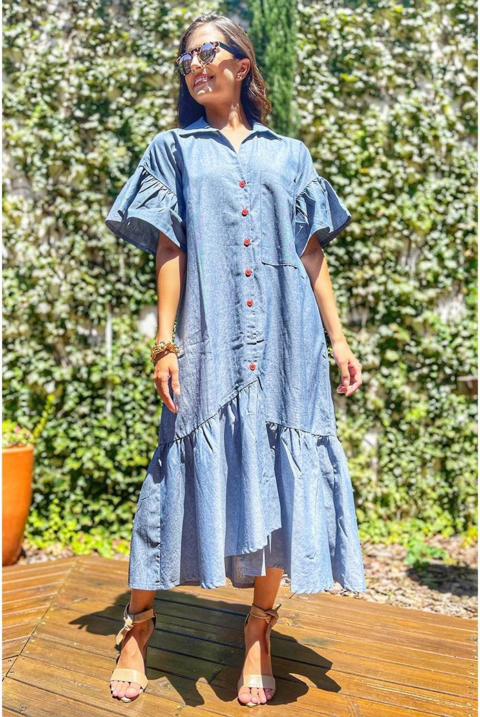Vestido Salgunamu Longuete - DBoneca