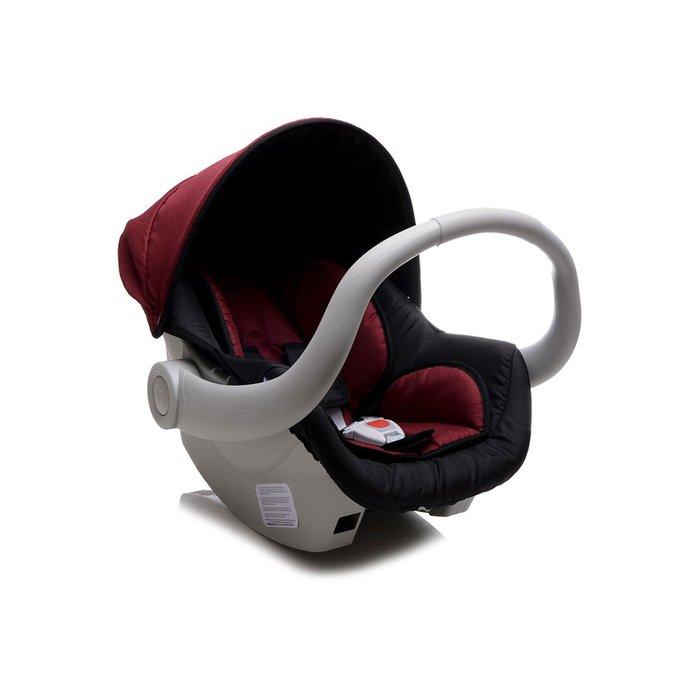 Bebê Conforto Dzieco Cocoon Preto/Vinho - Dispositivo de Retenção Até 13kg