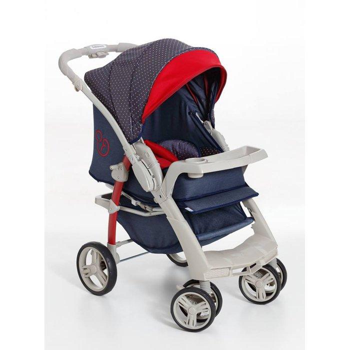 Carrinho de bebê Galzerano Passeio Optimus Jeans