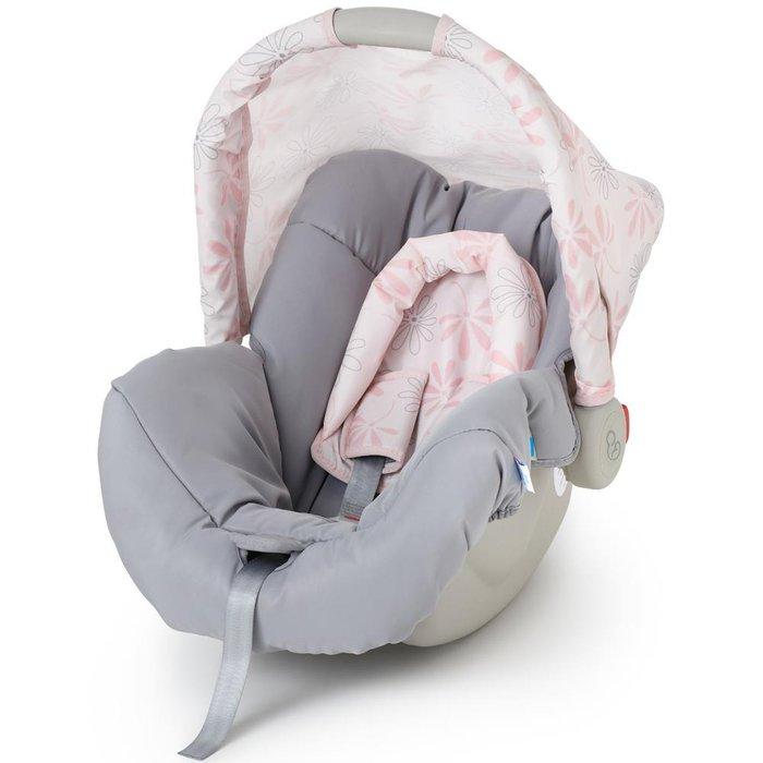 Bebê Conforto Galzerano Piccolina Rosa - Dispositivo de Retenção Até 13kg