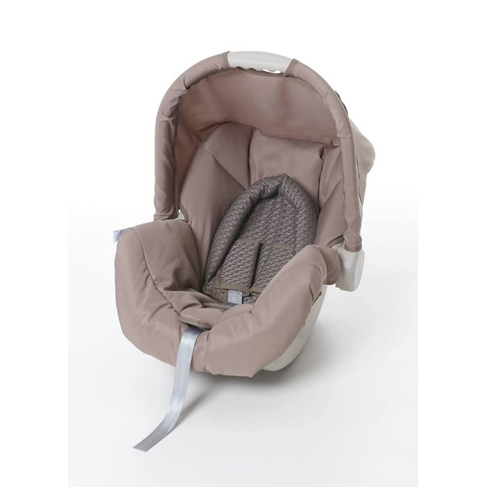 Bebê Conforto Galzerano Piccolina Cappuccino - Dispositivo de Retenção Até 13kg