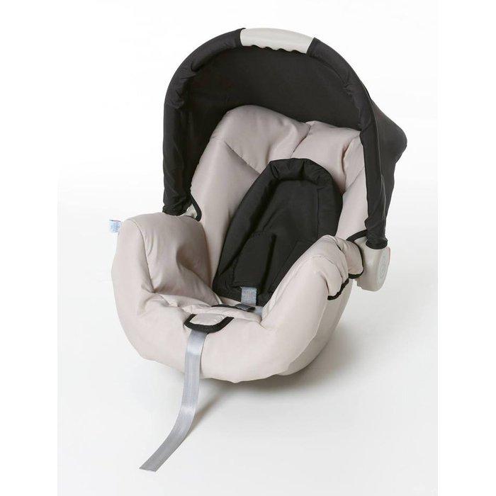 Bebê Conforto Galzerano Piccolina Preto - Dispositivo de Retenção Até 13kg