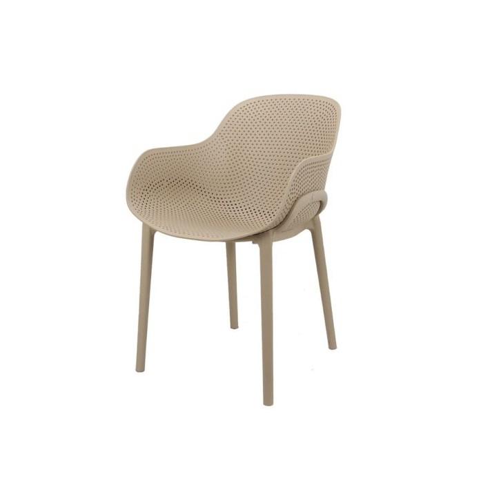Cadeira Decorativa DKR Flow Nude