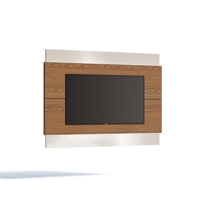 """Painel para TV Imcal Classic 1.4 para TV de até 60"""" Freijó/Off White"""