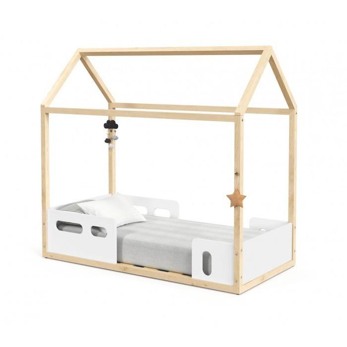 Mini Cama Matic Montessoriana Live Branco Soft/Natural