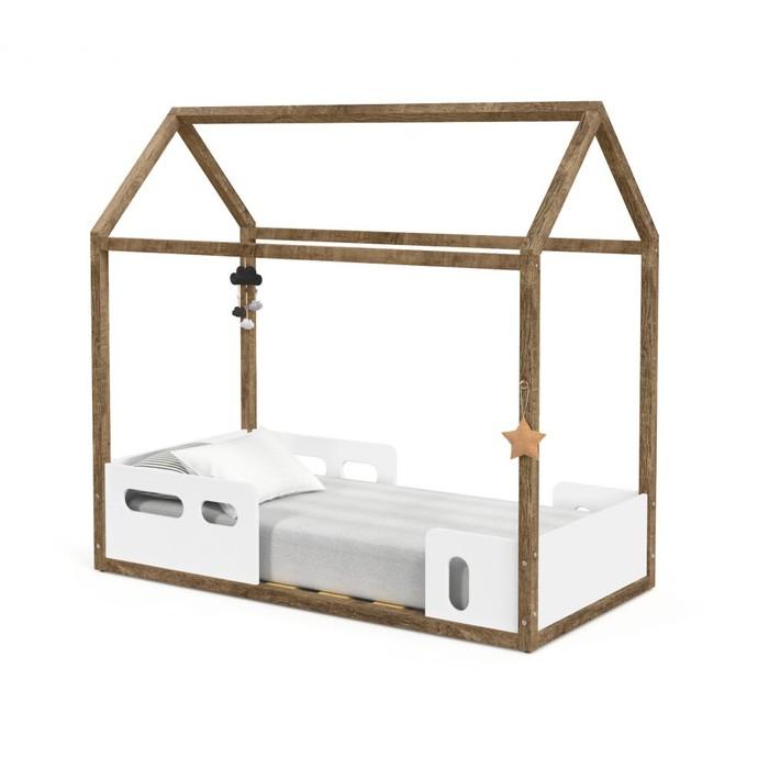 Mini Cama Matic Montessoriana Live Branco Soft/Teka