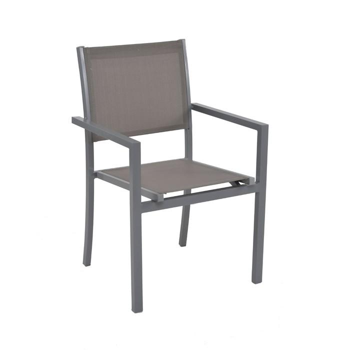 Cadeira Rivatti Ubatuba - Cinza
