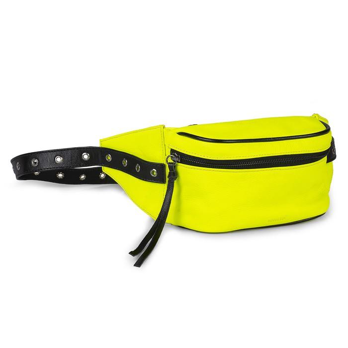 Pochete Couro Floater Amarelo Neon 749 (somente sob ENCOMENDA)