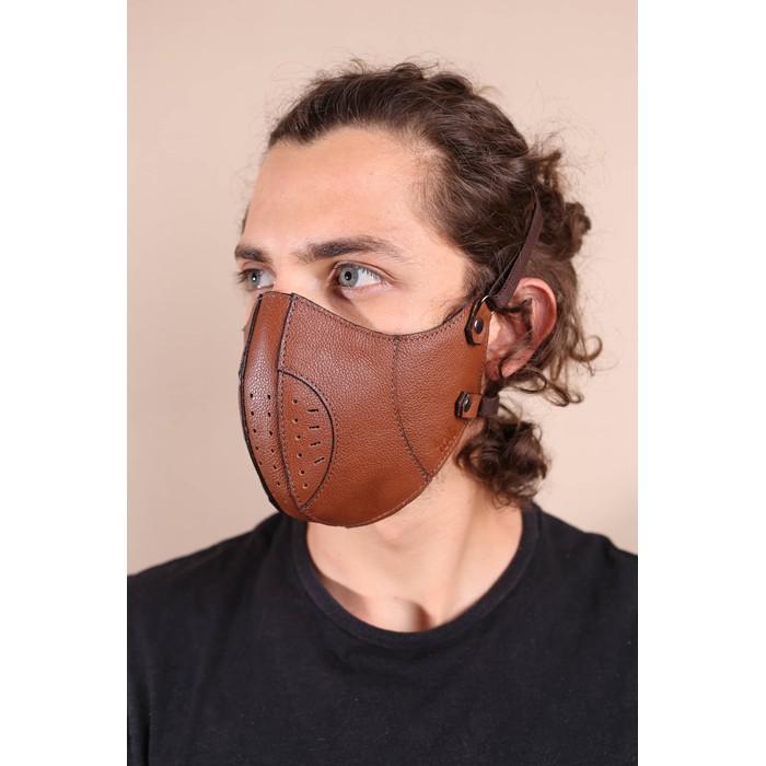 Máscara Couro Legítimo Havana Modelo 7.3