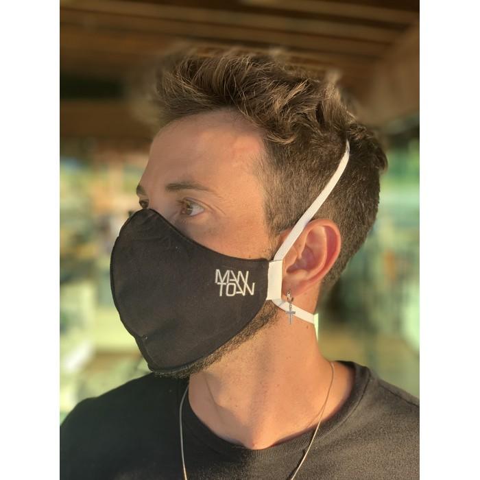 Máscara Tecido Lavável Basics Branco Cor 1.7