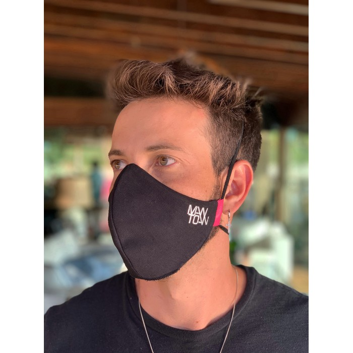 Máscara Tecido Lavável Basics Pink Cor 1.8