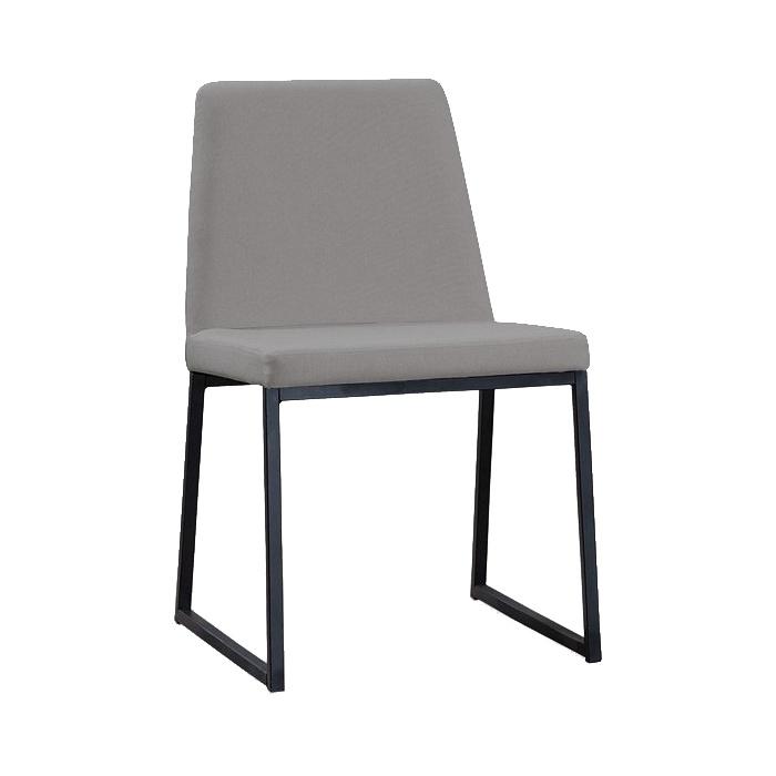 Cadeira Daf Yanka Linho Cinza