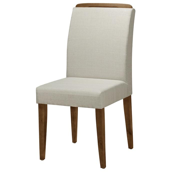 Cadeira Imperium Com Aplique Tecido 1023 / Amêndoa