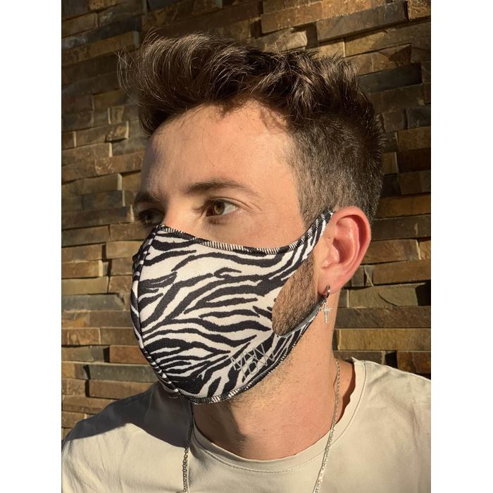 Máscara Espuma Lavável Zebra Cor 5.28