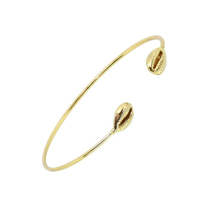 Bracelete Búzios Ouro
