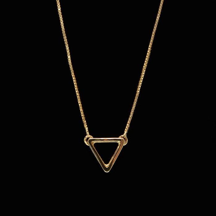 Escapulário Triângulo Ouro