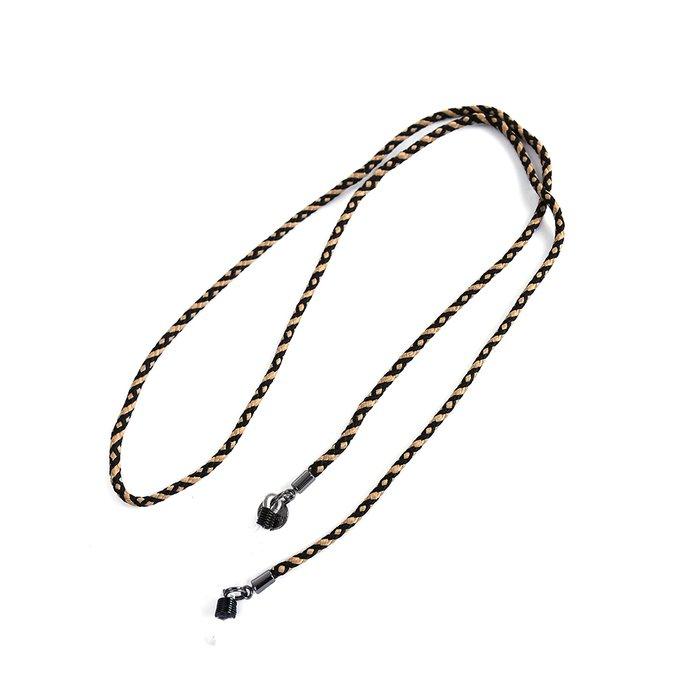 0d83596cb Cordão de Óculos Dourado e Preto | MANTOAN LOJA