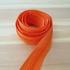 Zíper nacional n° 5 grosso (metro) - laranja