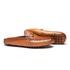 Sapato Masculino Mule Casual Estampa Linho Bridao Ouro Latego Havana