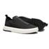 Sapato Masculino Sneaker Assinatura Jef Knit Preto