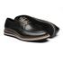 Sapato Masculino Derby Napa Liso Preto