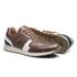 Sapato Masculino Sneaker Jogging Recortes Napa Amendoa