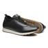 Sapato Masculino Sneaker Jogging Look Lycra Elastico Preto