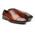 Sapato Masculino Oxford Tempest Recorte Bico Tabaco