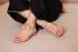 Sandália Salto Baixo Freedom com Calcanhar Fechado Pêssego -842-07