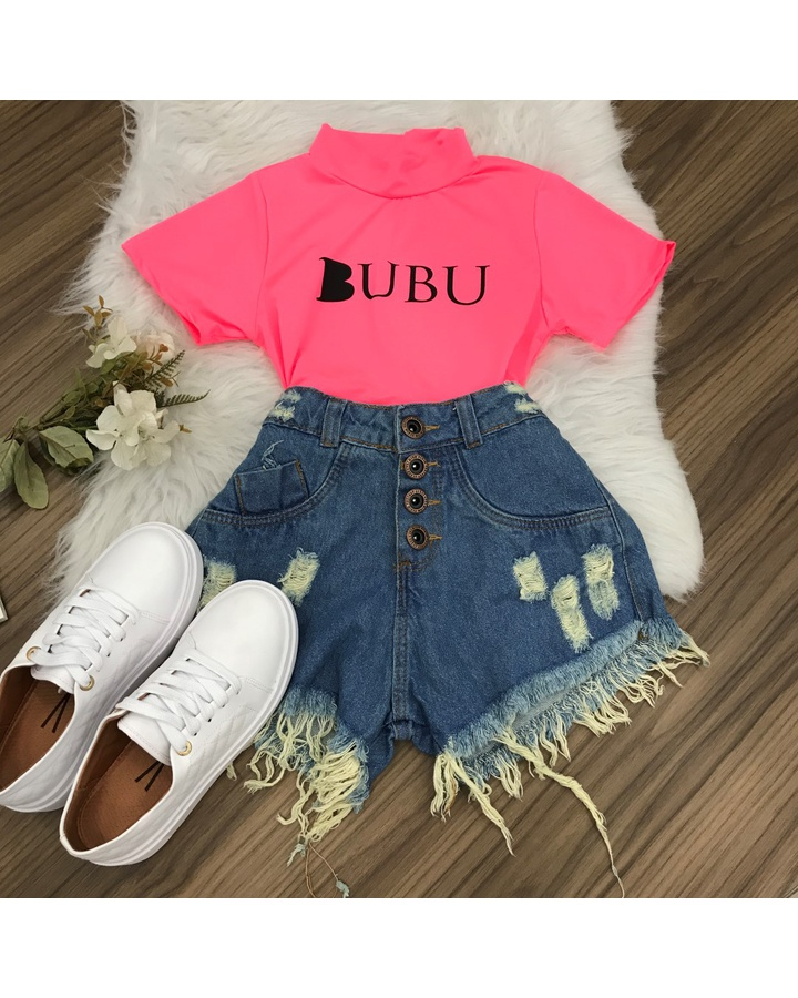 Cropped Bubu - Rosa