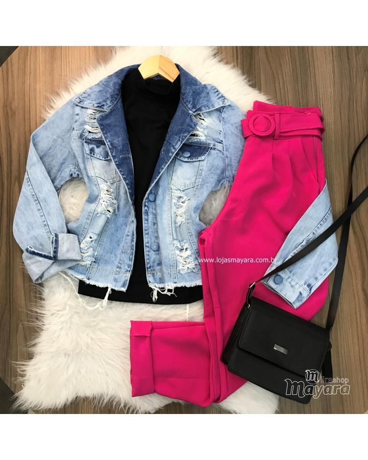 Jaqueta Jeans ... - lojas mayara lira shop