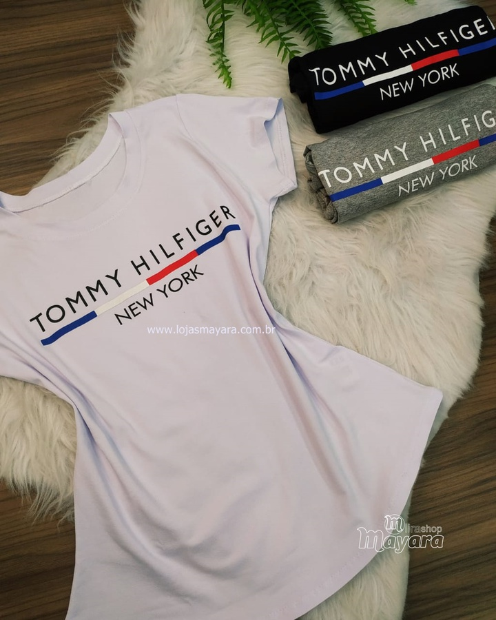 T-shirt Tommy Hilfiger Branca