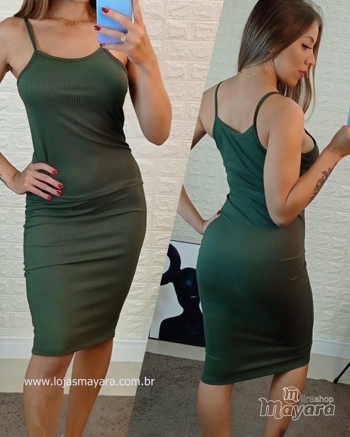 Vestido Canela... - lojas mayara lira shop