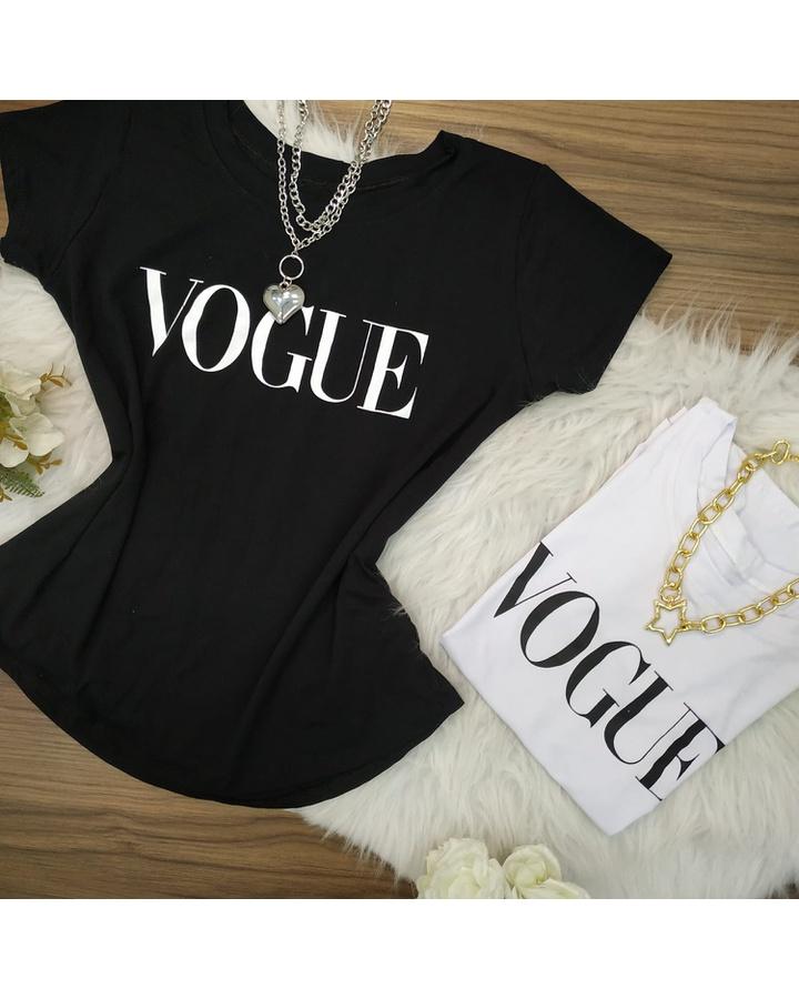 T-shirt Vogue Branca